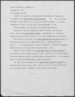 Press release from the Office of Governor William P. Clements, Jr. regarding appointments, September 26, 1979