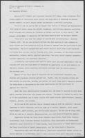 News release from the Office of Governor William P. Clements, Jr., regarding legislation affecting the State Board of Education, April 3, 1981