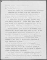 Press release from the Office of Governor William P. Clements, Jr. regarding appointments, January 30, 1980