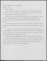 Press release from the Office of Governor William P. Clements, Jr. regarding appointments, October 27, 1982