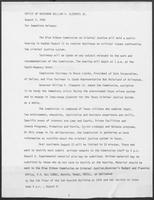 Press release from the Office of Governor William P. Clements, Jr. regarding the Blue Ribbon Commission on Criminal Justice, August 3, 1982