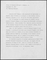 Press release from the Office of Governor William P. Clements, Jr. regarding appointments, September 22, 1981