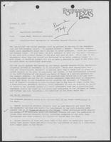 Memo from Taber Ward to Republican Candidates, October 4, 1978