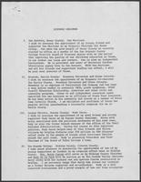 Report titled Hispanic Chairman, regarding appointments to office, undated