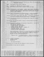 Memo from Herb Butrum to Staff operations for William P. CLements, Jr., undated