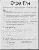Group of documents related to William P. Clements, Jr., campaign phone bank for Republican primary, 1986