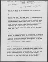 Transcript of interview with Jim Smith of Schlumburger Limited regarding well service business in Libya, undated