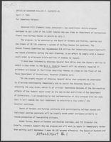Press release from office of William P. Clements Jr. regarding Ruiz v. Estelle, April 7, 1981
