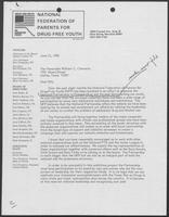 Letter from Pat Burch to William P. Clements, Jr., June 21, 1985