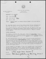 Memo from Eddie Aurispa to William P. Clements regarding proposed project to stimulate Mexican economy by utilizing American companies, April 6, 1982