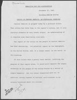 Report of the National Bipartisan Commission on Central America, Crisis in Central America: a historical overview, draft, December 27, 1983