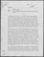 Memo from G. William Ruppert to Spencer L. Taylor regarding an audit by ALFOR and SONATRACH representatives of the various ALFOR/SONATRACH funds and related financial matters controlled by SEDCO, June 18, 1980