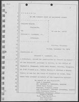 Deposition of William P. Clements, Jr., December 13, 1974