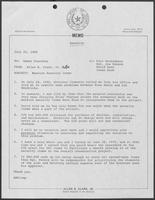 Memo from Allen Clark to Homer Foerster regarding Mansion Security Items, July 25, 1980