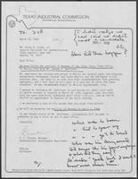 Letter from A.F. Alagna to Allen Clark, March 20, 1980