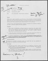 Memo from Mit Spears to Doug Brown regarding Dam Dedication--Brazos River Authority, September 25, 1979