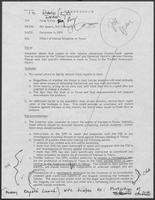 Memo from Mit Spears and Jim Cicconi to Doug Brown regarding Effect of Iranian Situation on Texas, December 4, 1979