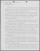 Press release by Bill Clements, January 17, 1980, regarding Mark White and the state budget