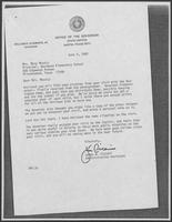 Letter from James W. Cicconi to Mary Mosely, June 9, 1980