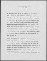 Transcript of Press Conference with William P. Clements June 1, 1978