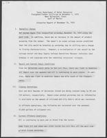 "Report titled ""Texas Department of Water Resources Freighter/Tanker Collision on November 1, 1979 near Galveston, Texas Gulf of Mexico, Situation Report"", November 19, 1979"