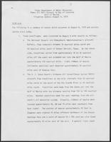 "Report titled ""Texas Department of Water Resources, Pemex Oil Well Blowout in Bay of Campeche-Gulf of Mexico-Situation Update"", August 9, 1979"