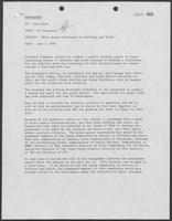 Memorandum from Pat Hartgrove to Karl Rove, June 3, 1981