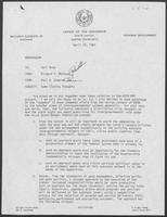Memo from Paul Edwards to Karl Rove regarding Some closing thoughts, April 29, 1981