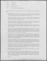 Group of documents regarding State Affairs-Oil Spill Response, July-August 1979
