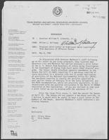Memo from Milton Holloway to William P. Clements regarding Proposed Joint Letter on High-Level Waste Legislation from Governors of Affected States, May 6, 1982