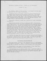 Testimony of Governor William P. Clements regarding immigration, Novembre 30, 1981