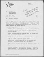 Memo from B.D. Daniel to Dary Stone, Mary Jane Maddox, and Katherine Hardin, March 16, 1982