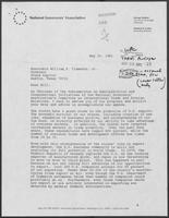 Letter from Bob Graham to William P. Clements, May 25, 1981