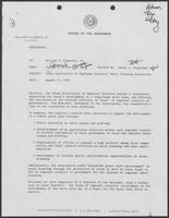 Memo Jarvis Miller to Bill Clements, August 17, 1982