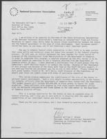 Letter from William Winter to William P. Clements, July 16, 1981