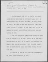 Remarks prepared for William P. Clements Jr. for Harlingen Mexican-American chamber of commerce annual awards breakfast, April 16, 1982