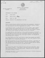 Memo from Eddie Aurispa to William P. Clements regarding Effects of the Devaluation of the Peso, August 16, 1982