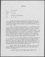 Memorandum from B.D. Daniel to Peter O'Donnell regarding attacks by WPC on Mark White, May 21, 1982