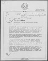 Memo from Johnny McCollum to David A. Dean, May 5, 1981
