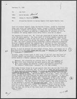 Memo from Johnny R. McCollum to Jon Ford, February 27, 1982