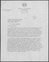 Letter from David A. Dean to William Wayne Justice regarding in camera inspection of correspondence, June 16, 1980