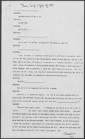 Press Conference Transcript excerpt, July 10, 1981