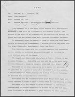 Memo from John Armstrong to William P. Clements regarding roundup follow-up, pre-election day (revised), October 11, 1980
