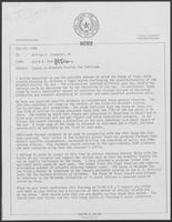 Memos and letters from David A. Dean and Governor William P. Clements, Jr., regarding status of Windfall Profits Tax Challenge, July 22, 1980