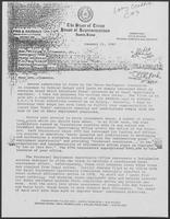 Group of documents regarding Texas Employment Commission, December 29, 1981 - January 11, 1982