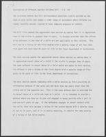 Report titled Explanation of Offenses Against Children Bill - S.B. 126, undated