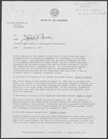 Memo from Jarvis E. Miller to Pat Oles regarding Appointments to Retirement System Boards, November 12, 1982