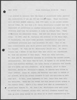 Transcript of a Press Conference by Mark White, October 23, 1986
