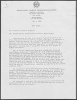 Open Letter From Richard Moreno, Chief Probation Officer, Bexar County, May 8, 1980