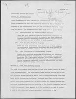 Draft Report: Educational Services for Adults, December 1, 1980